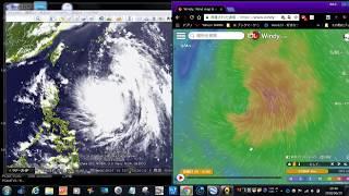 台風7号プラピルーン発生今後の進路予想