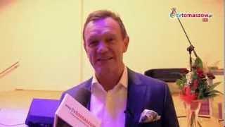 preview picture of video 'Cezary Pazura pozdrawia Tomaszowian, mieszkańców Niewiadowa i Ujazdu'