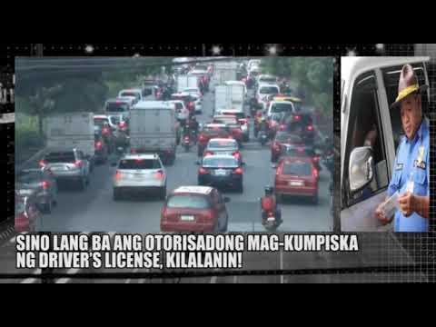 [DZRH]  SINO LANG ANG OTORISADONG MAGKUMPISKA NG DRIVER'S LICENSE SA PILIPINAS