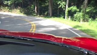 Chevrolet Corvette Z06 running the Tail of the Dragon, 311 turns in 11 miles