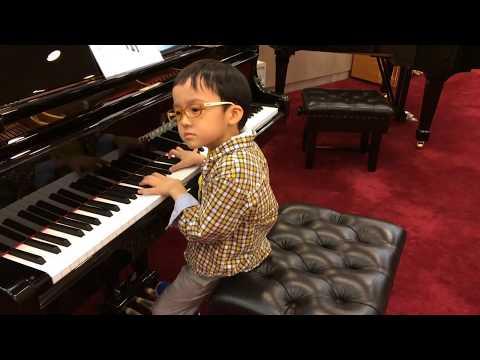Niño De 5 Años Ofrece Una Increíble Interpretación De Piano