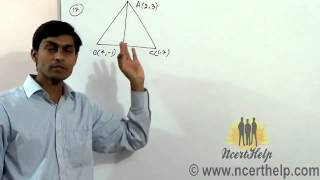Find The Equation And Length Of Altitude From The Vertex A In The Triangle ABC With Vertices...