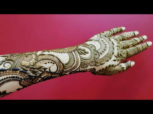 Video Dubai Henna Design For Eid 18 Heena Vahid