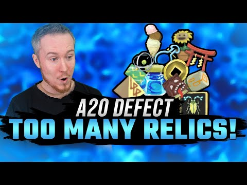 TOO MANY RELICS! | A20 Defect Run | Slay the Spire