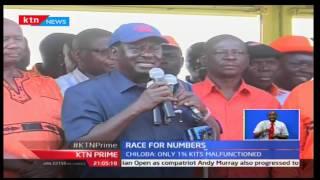 KTN Prime: NASA Co-Principal Kalonzo Musyoka accuses the IEBC registration process as a scam