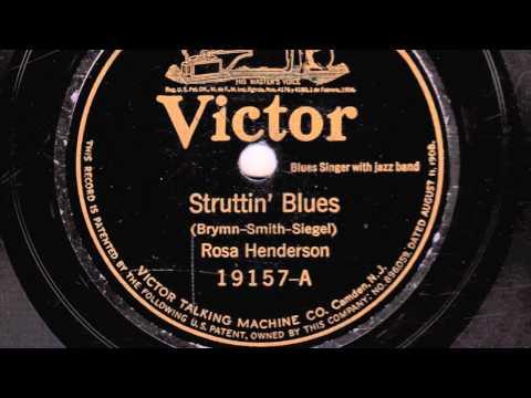 Struttin' Blues [10 inch] - Rosa Henderson online metal music video by ROSA HENDERSON