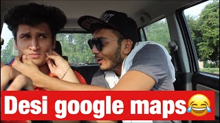 Desi google maps-vine- Elvish yadav
