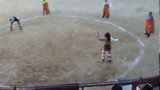 preview picture of video '4 Entrenamiento lucha gladiadores Lakuerter 2013 Andorra (Teruel)'