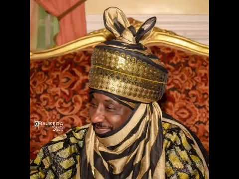 Kallo yadda sarkin kano Muhammad sunusi na II ke French