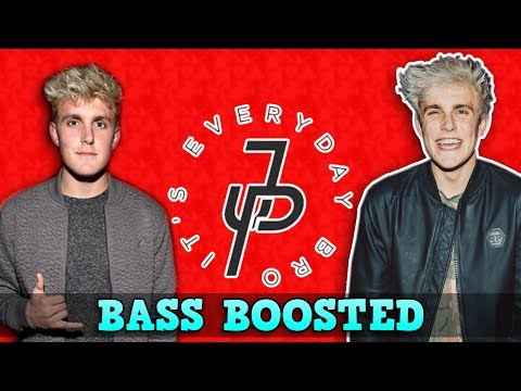 Jake Paul - It's Everyday Bro ft. Team 10 [BASS BOOSTED]