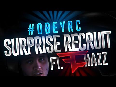 SURPRISE Recruiting a #ObeyRC Winner ft. FaZe Hazz!