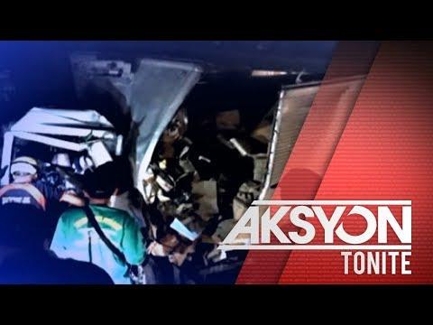 [News5]  2 patay sa karambola ng sasakyan sa Atimonan, Quezon