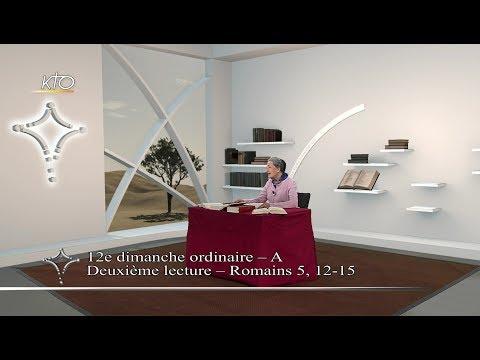 12e dimanche ordinaire A - 2e lecture