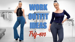 Business Outfits For Work Try-on | Viktoria Kay | Iza.La
