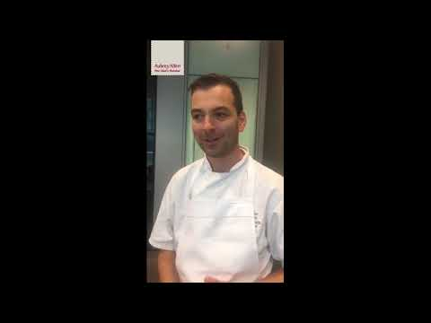 Simon Webb on BCF Chef of the Year