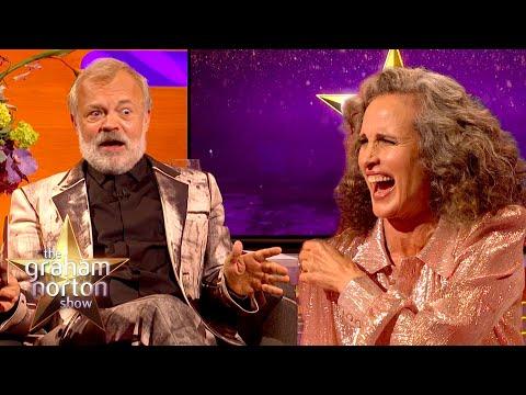 Andie MacDowell o nadávkách - The Graham Norton Show