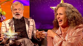 Andie MacDowell Gets Away With Using The Only Swear Word No-One Else Can   The Graham Norton Show