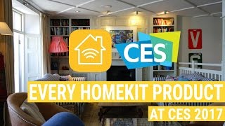 All the New HomeKit Products at CES 2017