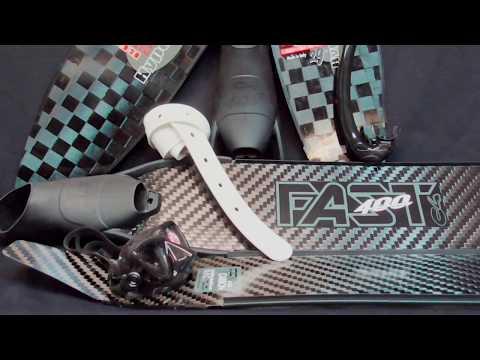 Ласты карбоновые C4 Fast в калоше 400 Line Video #1