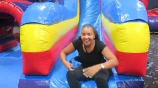 PUMP IT UP! HUGE FUN indoor slides & bounce houses