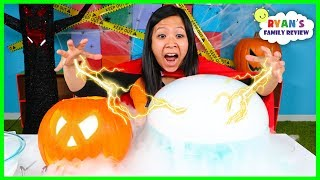 Easy DIY Science Experiments For Kids Halloween Edition Top 5!!!!