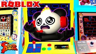 ESCAPE THE ARCADE OBBY IN ROBLOX! Let's Play Roblox with Combo Panda