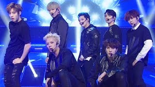 """""""POWERFUL"""" GOT7 (New Seven) - Hard Carry (Hard Carry) @ Popular Inkigayo 20161009"""