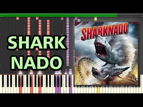 The Ballad of Sharknado - Quint   Synthesia Piano Tutorial