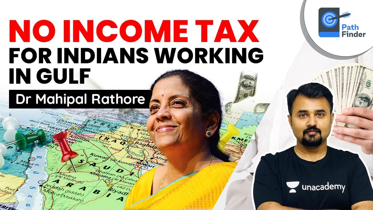 Financing Minister states No Earnings Tax for NRI's operating in Gulf Countries -Expat tax guidelines #UPSC #IAS thumbnail