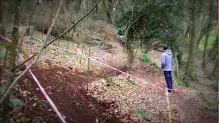 preview picture of video 'Guernsey Downhill 2012 - Winter Fun Race The Grantez'