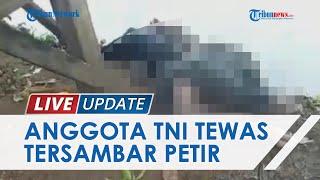 Niat Cari Ikan di Empang, Anggota TNI & Seorang Warga Gowa Tewas Tersambar Petir, Begini Kondisinya