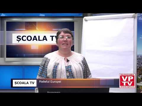 ȘCOALA TV – Geografie – Relieful Europei
