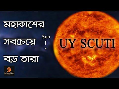 UY SCUTI /মহাকাশের সবচেয়ে বড় তারা/Largest known star in the universe/ScientificMIND Bangla
