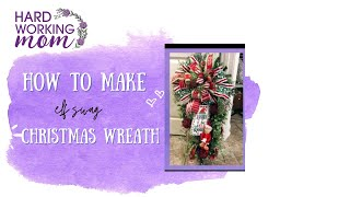 How To Make An Elf Swag For Christmas