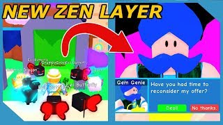 SELLING 100 MILLION COINS TO THE GEM GENIE IN ROBLOX BUBBLE GUM SIMULATOR