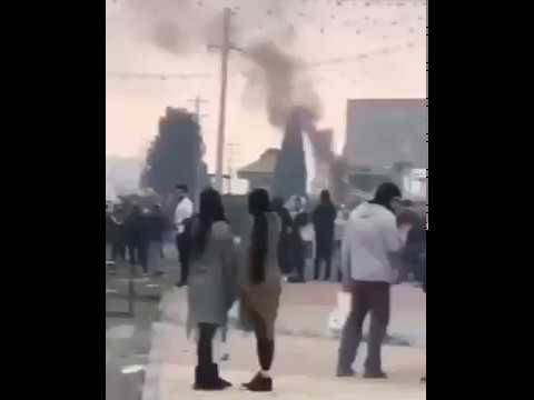 Iranian protesters in Shiraz set fire to office of Khamenei's representative