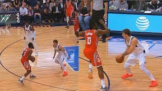 James Harden Shows Luka Doncic He Can't Be Guarded Then Luka Gets Him Benched For Fouls!