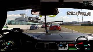 preview picture of video 'Porsche Carrera Cup Italia - Misano Adriatico (2012) - Alberto De Amicis (Incidente Gara 1)'