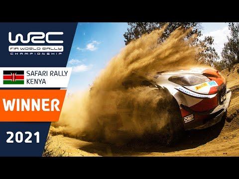 総合優勝のセバスチャン・オジェの走りを集めたハイライト動画!WRC 2021 WRC第6戦ラリー・ケニア