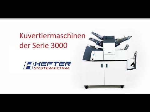 Kuvertiermaschinen der Serie 3000 von HEFTER
