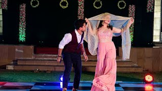 Brother- Sister sangeet dance  Vidhi Bhatia  Raanjhanaa   Chunari chunari