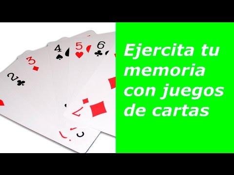 5 juegos de cartas para fortalecer la memoria