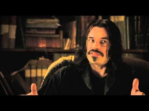 Why vampires drink virgin blood. (What We Do in the Shadows)