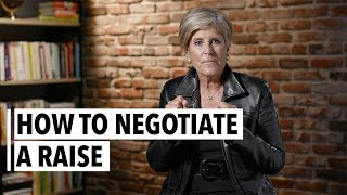 Suze Orman How To Negotiate A Raise
