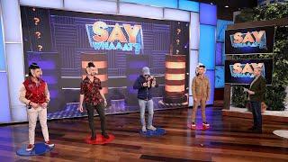 Jonas Brothers Play 'Say Whaaat?'