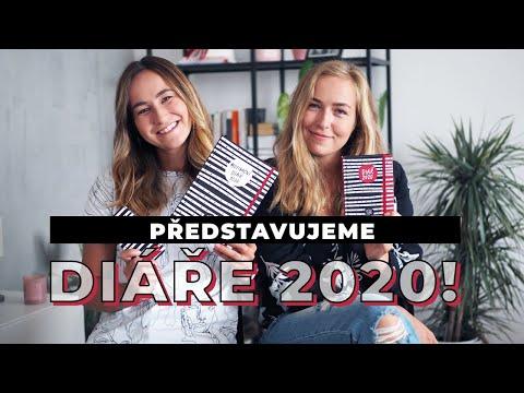 Představujeme diáře na rok 2020!