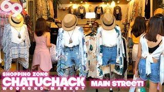 Chatuchak Weekend Market / Main Street Shopping Zone
