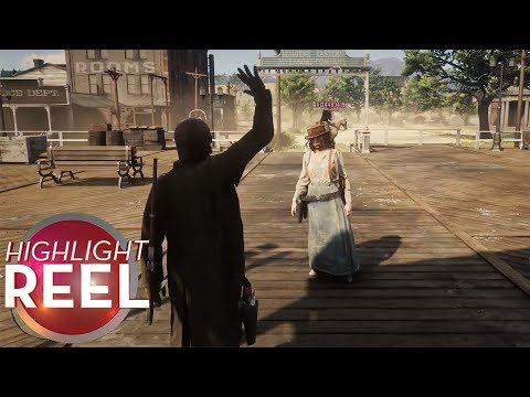 Highlight Reel #442 – Red Dead Online Friendship Ends Quickly