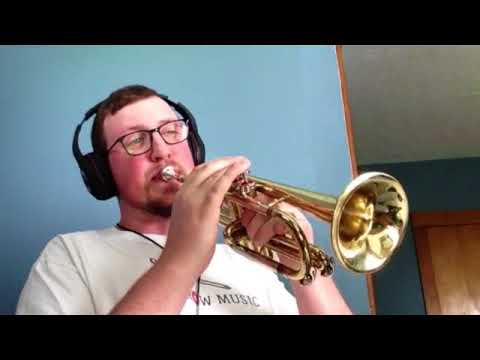 "Performing ""What A Wonderful World"" on Cornet"