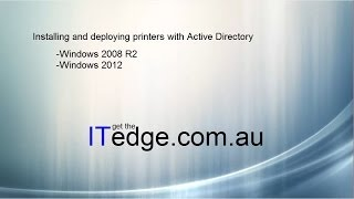 Printer installation and deployment with Active Directory ( GUI and Powershell )